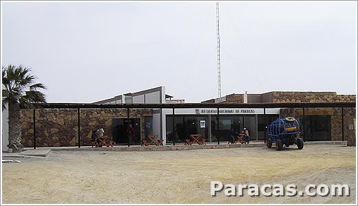 Foto de la Zona arqueologica de Paracas