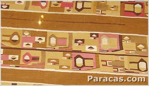 Foto de un manto Paracas