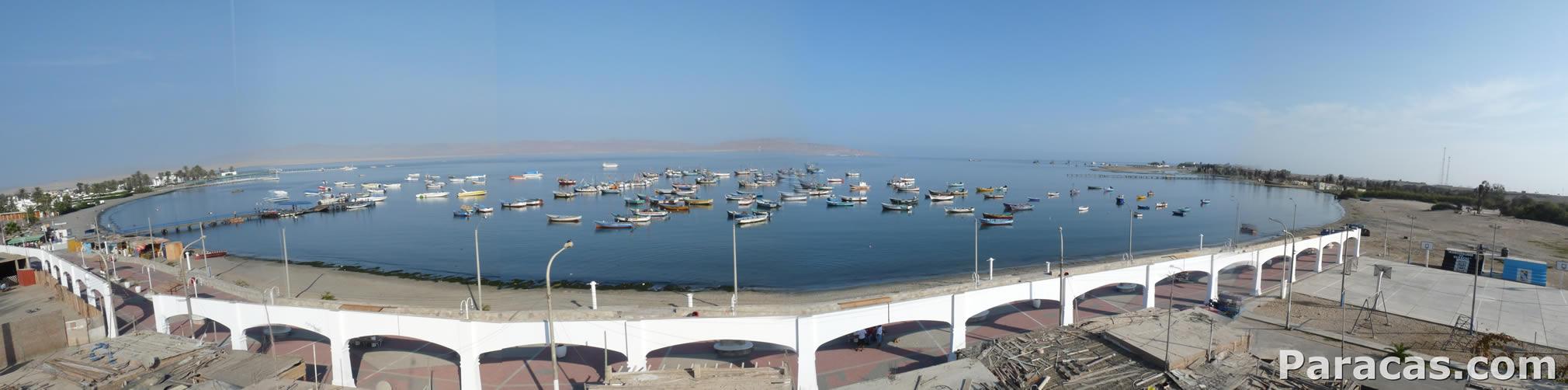 Bahía de Paracas - Vista panorámica - Paracas.com