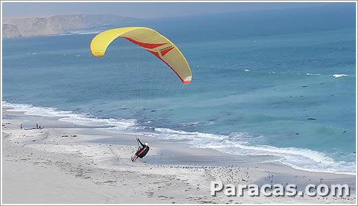 Sport-Abenteuer in Paracas Peru